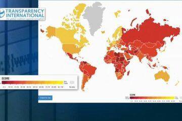Индекс восприятия коррупции: в Украине ухудшилась ситуация