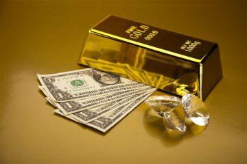 Стоимость золота подскочила на $15,2, серебро дорожает на глазах