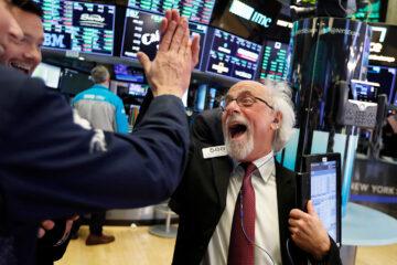 Биржи США отреагировали на отчетность компаний за III квартал: данные торгов